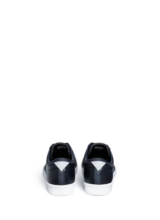Back View - Click To Enlarge - Adidas - 'Supergrip' leather sneakers