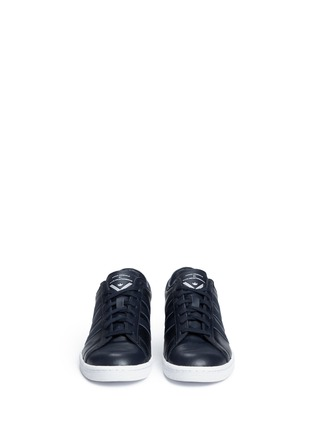 Front View - Click To Enlarge - Adidas - 'Supergrip' leather sneakers
