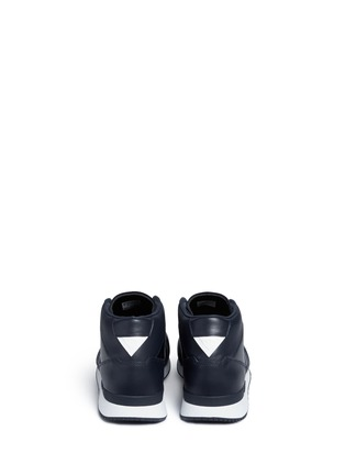 Back View - Click To Enlarge - ADIDAS - 'ZX500 Hi' leather sneakers