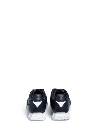 Back View - Click To Enlarge - Adidas - 'Formel 1' leather sneakers