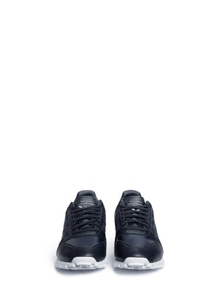 Front View - Click To Enlarge - Adidas - 'Formel 1' leather sneakers
