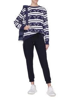 Calvin Klein Performance Stripe star print sweatshirt