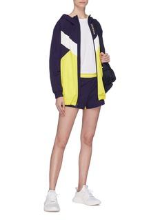 Calvin Klein Performance Colourblock water-repellent oversized windbreaker jacket