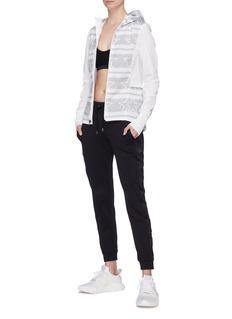 Calvin Klein Performance Stripe star print water-repellent windbreaker jacket