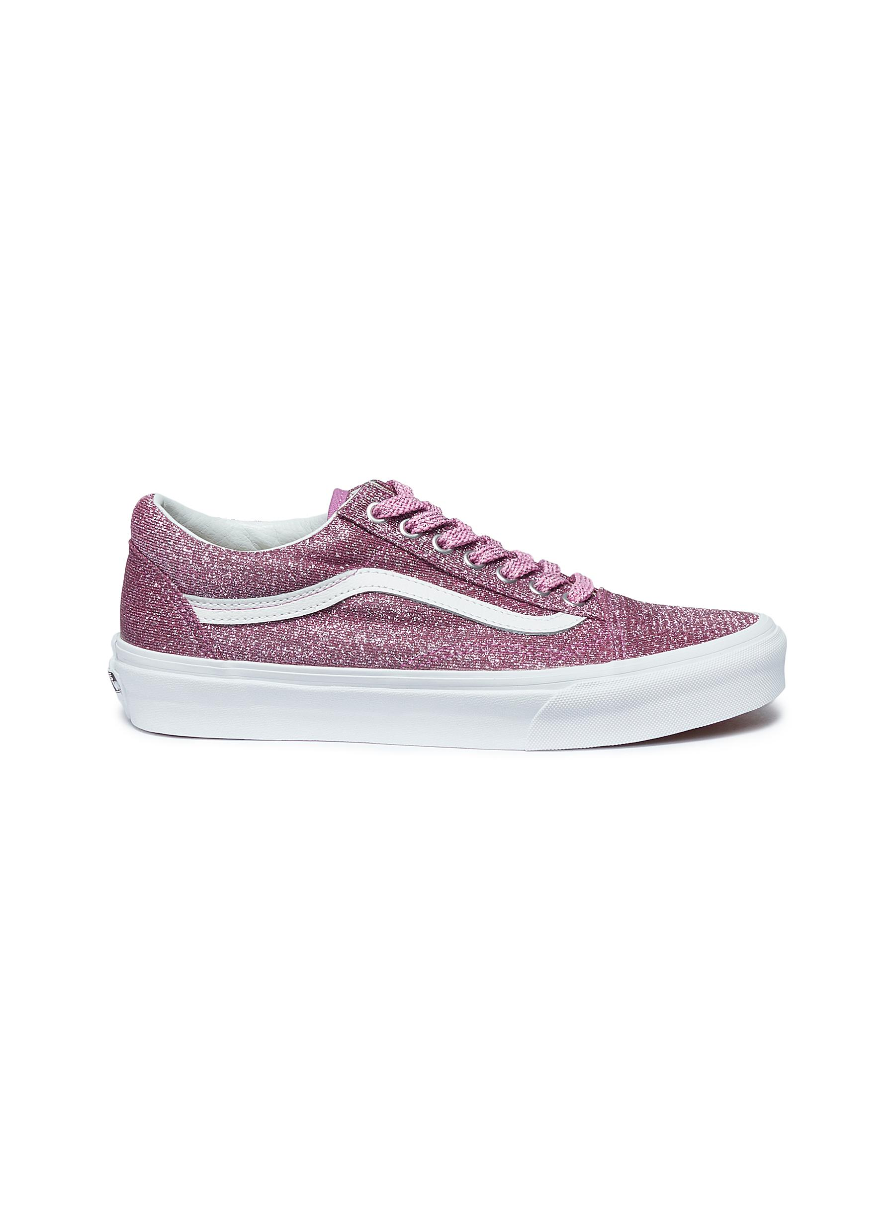 Main View - Click To Enlarge - Vans -  Lurex Glitter Old Skool  sneakers ecb8eb0a4