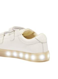 POP Shoes 'St Laurent' LED midsole leather kids sneakers
