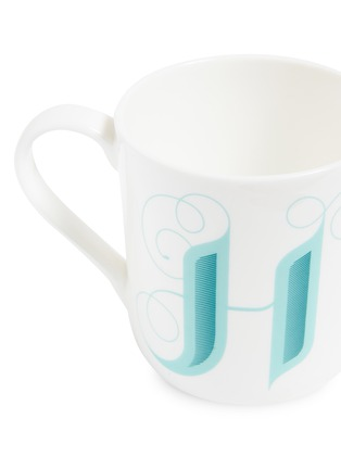 Detail View - Click To Enlarge - FORTNUM & MASON - Fortnum's Alphabet mug – H