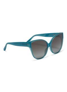 Linda Farrow Acetate oversized cat eye sunglasses