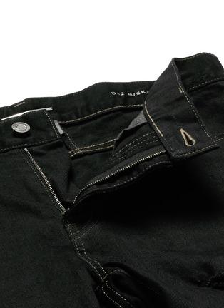 - SAINT LAURENT - Distressed skinny jeans