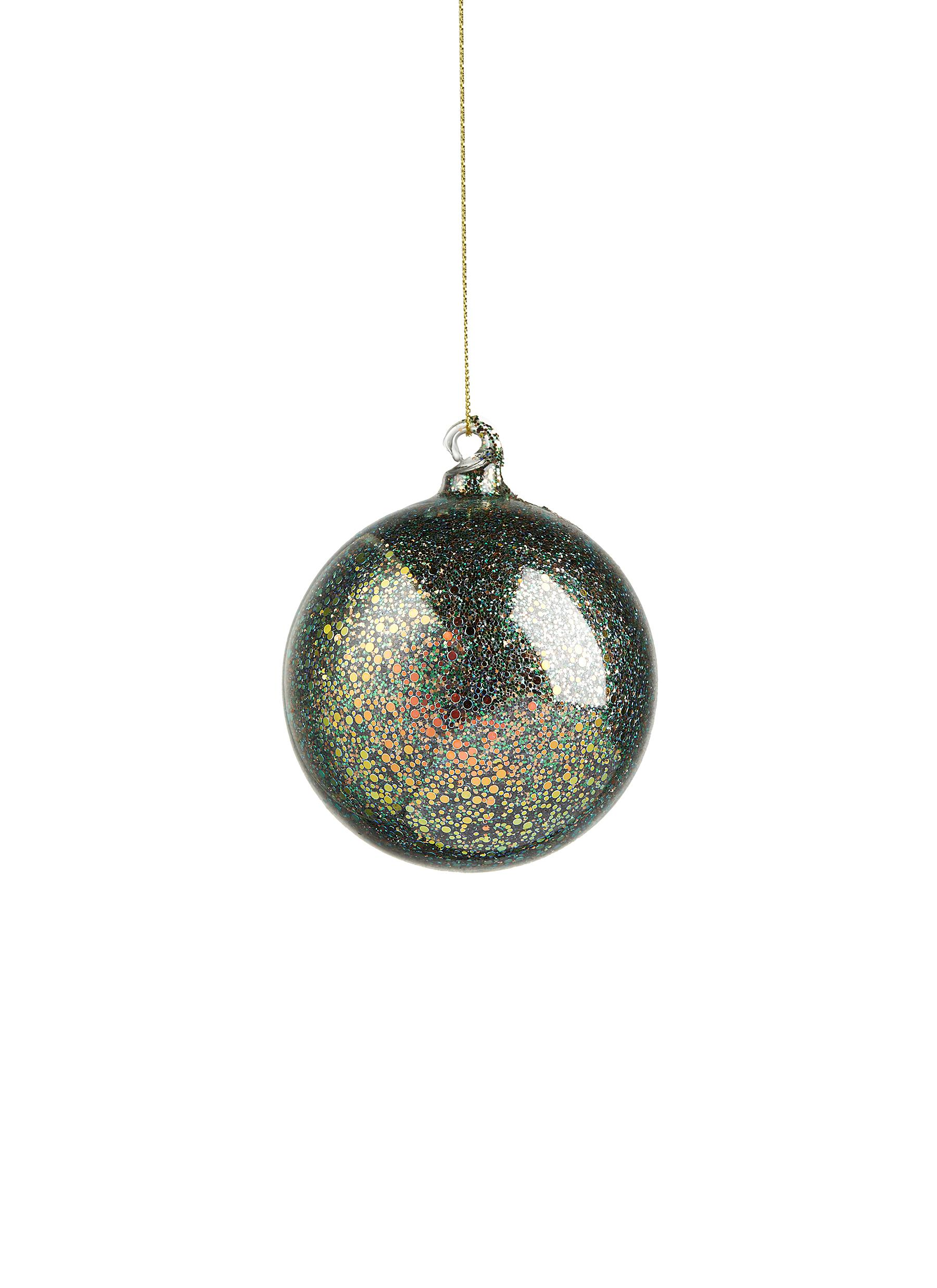 Shishi As | Sequin glass ball Christmas ornament | Women | Lane Crawford