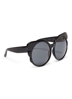 Matthew Williamson Acetate butterfly frame sunglasses