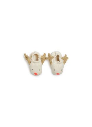 Main View - Click To Enlarge - MERI MERI - Reindeer baby booties