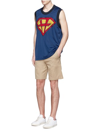Figure View - Click To Enlarge - Valentino - 'Super-H' Superman basketball tank