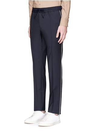 Front View - Click To Enlarge - Valentino - Side piping jogging pants