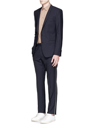 Figure View - Click To Enlarge - Valentino - Side piping jogging pants