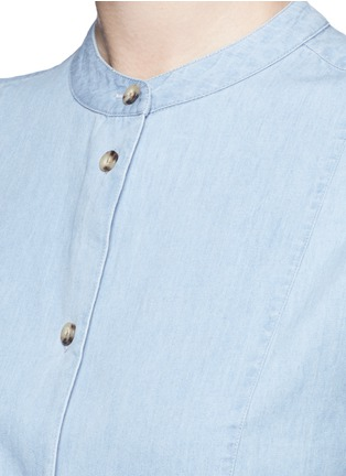 Detail View - Click To Enlarge - EQUIPMENT - 'Mandel' cotton chambray shirt