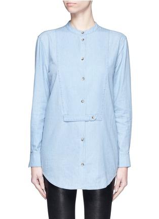 Main View - Click To Enlarge - EQUIPMENT - 'Mandel' cotton chambray shirt