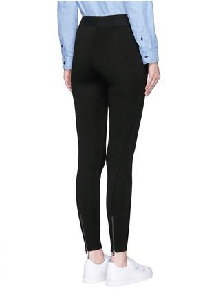 Back View - Click To Enlarge - rag & bone/JEAN - 'Reilly' zip cuff leggings