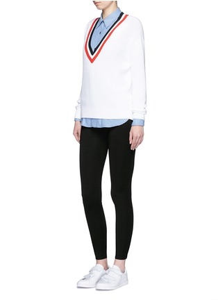 Figure View - Click To Enlarge - rag & bone/JEAN - 'Reilly' zip cuff leggings