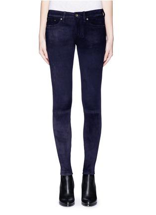 Main View - Click To Enlarge - rag & bone/JEAN - 'Skinny' suede pants