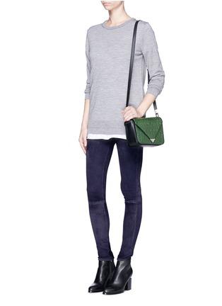 Figure View - Click To Enlarge - rag & bone/JEAN - 'Skinny' suede pants