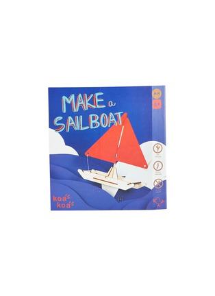 Main View - Click To Enlarge - Koa Koa - Make a sailboat kit
