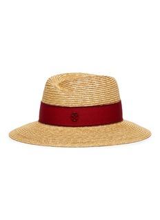 Maison Michel 'Virginie' wheat straw fedora hat