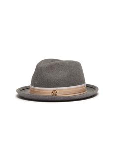 Maison Michel 'Ygor' rabbit furfelt trilby hat