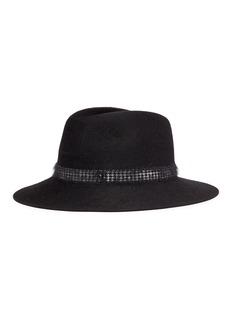 Maison Michel 'Henrietta' furfelt fedora hat