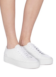 Common Projects 'Tournament' leather platform sneakers