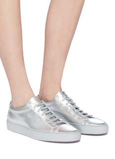 Common Projects 'Original Achilles' metallic leather sneakers