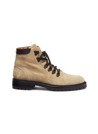 Main View - Click To Enlarge - Common Projects - Suede hiking boots