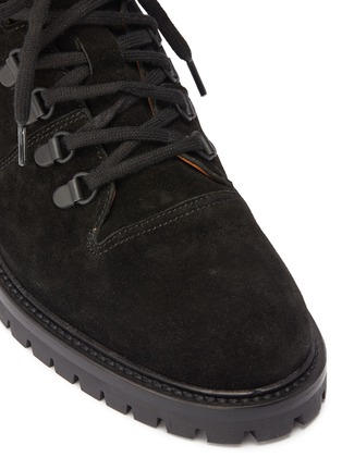 Detail View - Click To Enlarge - Common Projects - Suede hiking boots