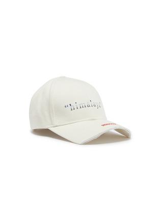Main View - Click To Enlarge - SMFK - 'Himalaya' slogan embroidered baseball cap