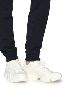 Reebok 'Run.R 96' leather panel mesh sneakers