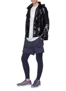 Particle Fever Retractable hood windbreaker jacket
