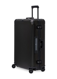 RIMOWA Topas Stealth Multiwheel® with electronic tag (Black, 98-litre)