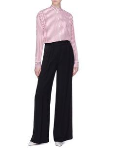 Victoria Beckham Stripe grandad shirt