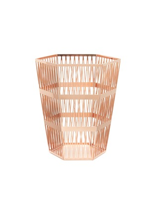Main View - Click To Enlarge - GHIDINI 1961 - Tip Top small paper basket – Rose Gold
