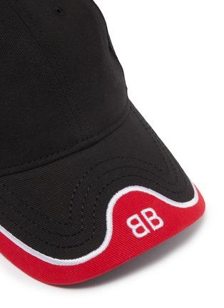 24cbc33b0d3 Detail View - Click To Enlarge - Balenciaga -  BB Mode  logo embroidered  visor