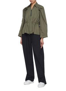 PHVLO Rain-repellent wide leg pants