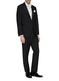 Lanvin Wool-mohair tuxedo suit