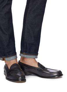 ANTONIO MAURIZI Leather penny loafers