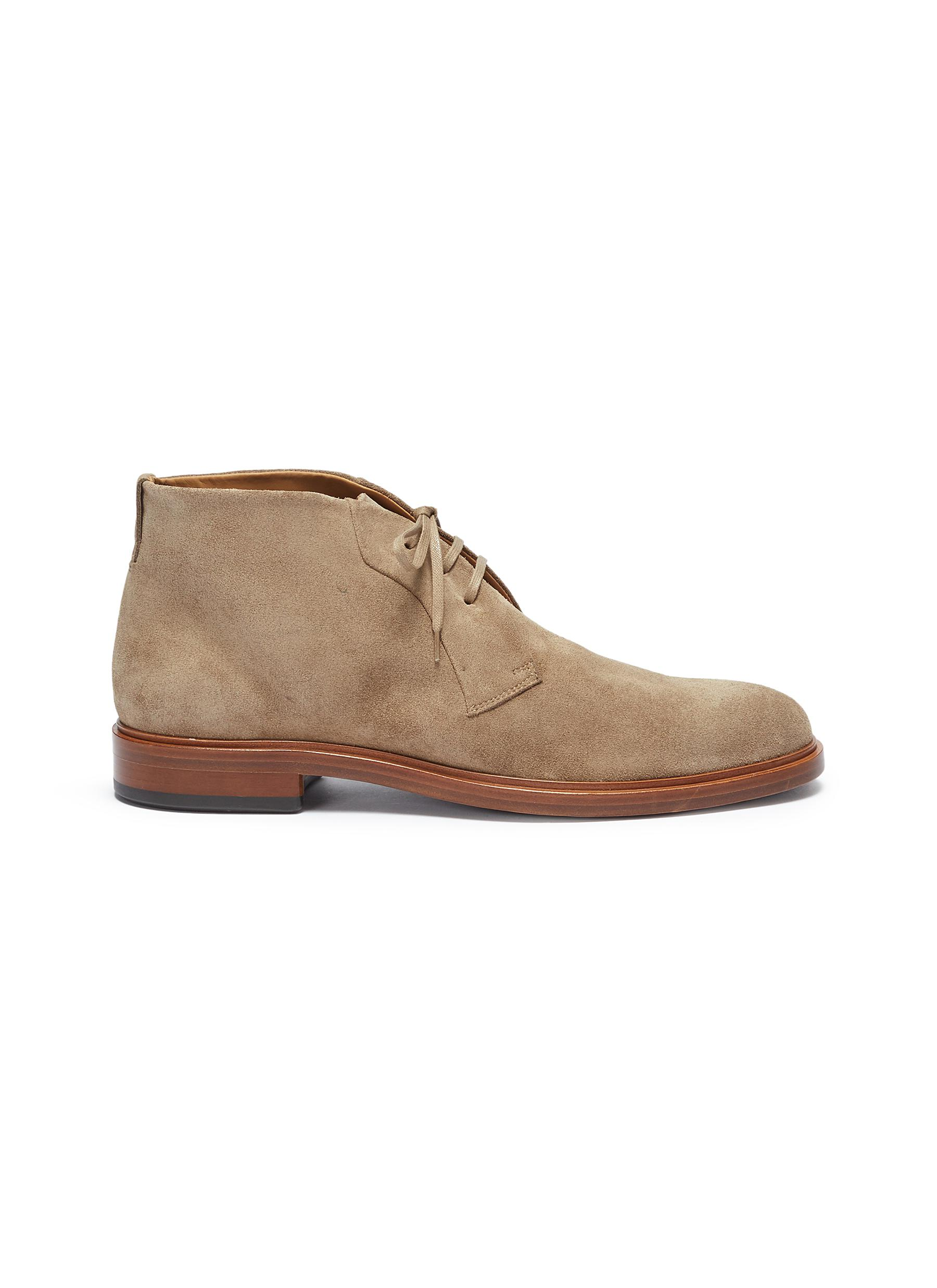 Brunswick suede Chukka boots by Vince