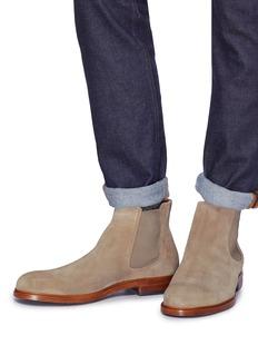 Vince 'Burroughs' suede Chelsea boots