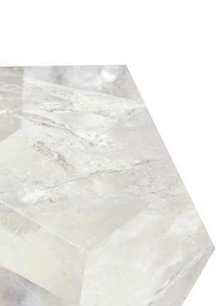 Detail View - Click To Enlarge - Lane Crawford - x Stoned Crystals Geo Gem –Clear Boy Clear Quartz