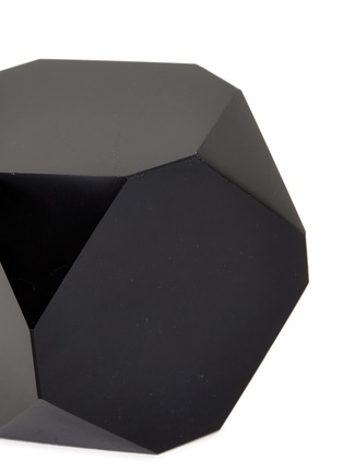Detail View - Click To Enlarge - LANE CRAWFORD - x Stoned Crystals Geo Gem –Black Hex Obsidian