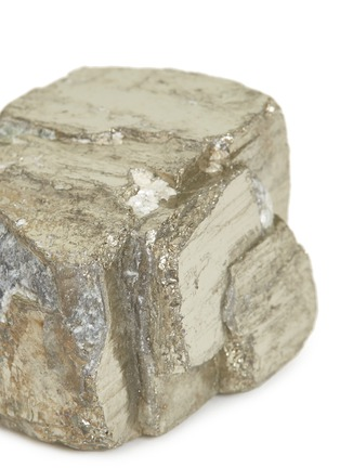 Detail View - Click To Enlarge - LANE CRAWFORD - x Stoned Crystals mini crystal – Pyrite