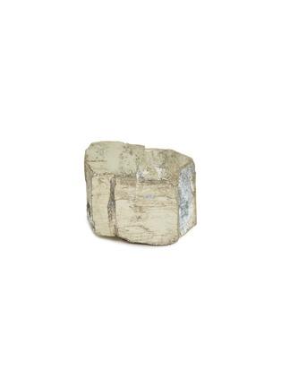 - LANE CRAWFORD - x Stoned Crystals mini crystal – Pyrite