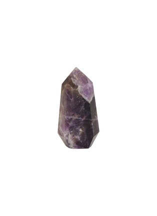 Main View - Click To Enlarge - LANE CRAWFORD - x Stoned Crystals Geo Gem –Chevronica Amethyst